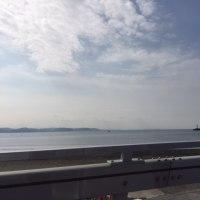 快晴の江ノ島。