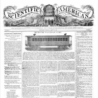 世界初の一般向け科学雑誌『サイエンティフィック・アメリカン』が創刊。