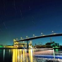千本松渡船場の夜景
