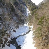ぶらり 早春の高瀬川渓谷へ