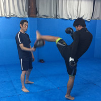 格闘技で趣味と健康(^^)