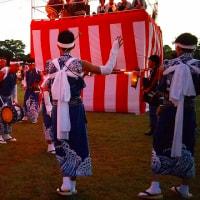 中央台鹿島高久地区のじゃんがら踊り最高でした