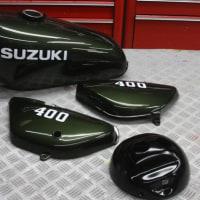 スズキ・ハスラー400のペイントです。