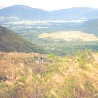 山登りが趣味の2人の思い出の山で @九重連山でロケーションフォト