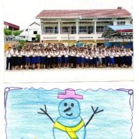 カンボジアの子供たちからメッセージカードが届きました