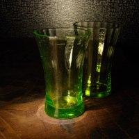 ウランガラスコップ