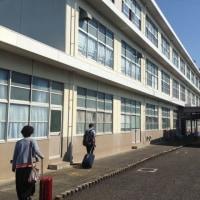 学校ツアー初日は静岡から