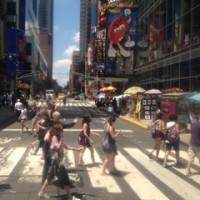 NYCは本格的な夏の観光シーズンに突入