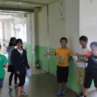 廊下歩行と少年の主張大会