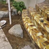 庭石いじりは面白い