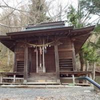 秋葉神社の啄木歌碑