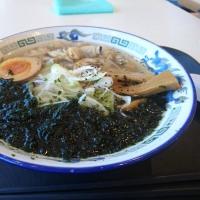 木更津駅 うみほたる あさりラーメン 波市(なみいち)