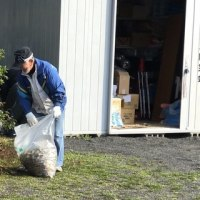 瀬名川西公園清掃作業