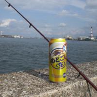 ビールと釣り