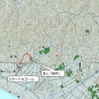 348     房総の山(館山市のⅡ△「州宮」外2点)を巡る山歩き。  ('17,02,21)