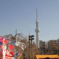 浅草寺とスカイツリー