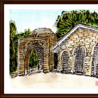 ブルガリア・ルーマニア旅行シリーズ その38 トラキア人の墳墓(ブルガリア・カザンラク)