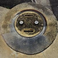 今日の一枚【today's shot】  マンホールの蓋(manhole cover)