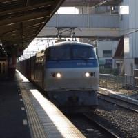 EF66-104号機@吹上駅
