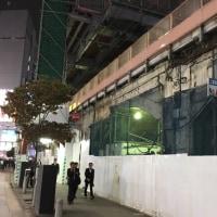 変わる新橋駅