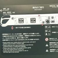 東武日光線リバティ会津129号に乗る