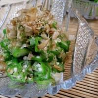 鱧のフライと純米吟醸・夏の川亀