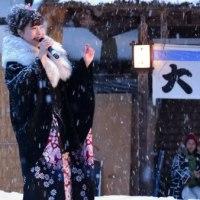 No.633 冬の華・大内宿雪まつり