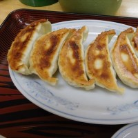 豊島区長崎 「ぎょうざの満洲 椎名町駅店」へ行く。。。「やみつき丼と餃子」