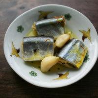 秋刀魚のサフラン煮