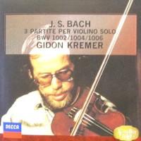 ◇クラシック音楽CD◇ギドン・クレーメルのバッハ:無伴奏ヴァイオリンのためのパルティータ第1番~第3番