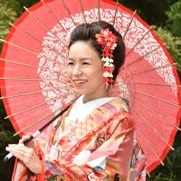 日本髪風ヘアアレンジ🌼