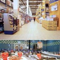 ロシアとバルト3国、ポーランドを巡る旅 12: ロシアの大型スーパー