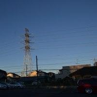 1月24日、午前7時過ぎの空模様
