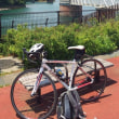 季節外れの猛暑の中、久々にロードバイクに乗った。