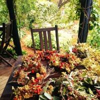 秋のオープンガーデン