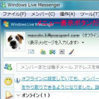 WindowsLiveMessenger:��˥塼ɽ���ΰ㤤