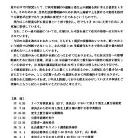 「発生土置き場の経過について」  (29.1.16 阿智村リニア対策委員会)