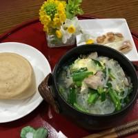台湾料理部第19回 ☆春雨のスープ・黒糖饅頭・杏仁乳軋糖(アーモンドヌガー)☆