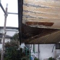 雨漏れ腐食箇所の修復 ・・・ 屋根