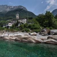 ティチーノ、滝 + 川  Ticino, waterfalls + rivers