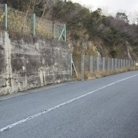老朽化壁面等を現場視察
