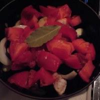 チキンとなすのトマト煮@ストウブ鍋
