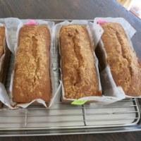 ステップアップクラス・・・栗のパウンドケーキ
