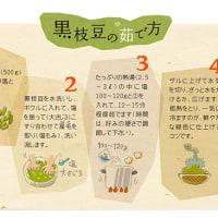 黒枝豆販売解禁日は、 平成28年10月5日(水)