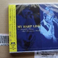 松尾一彦さんのCD「MY HARP LIFE」を購入