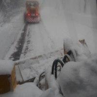片品村、雪降りました‼
