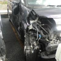 「スリップ事故 」 事故写真