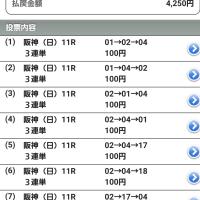 第67回阪神JF(G1)三連単