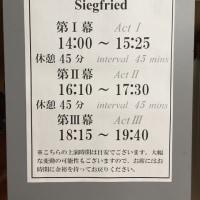 「ジークフリート」(新国立劇場)