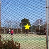 テニスの練習試合♪